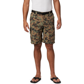 Columbia Silver Ridge Printed Cargo Shorts Men cypress camo